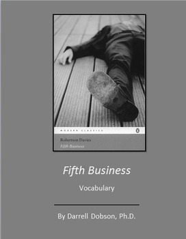 Fifth Business -- Robertson Davies -- Vocabulary