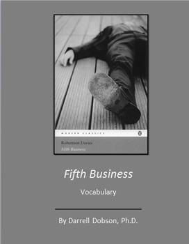 Fifth Business -- Robertson Davies -- Vocabulary