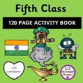 Fifth Class 120 Page Activity Book - Distance Learning