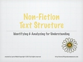 Non Fiction Text Structure PowerPoint Presentation