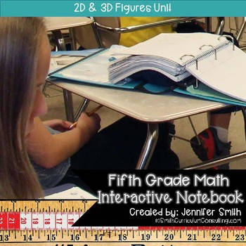Fifth Grade- 2D Figures Interactive Notebook