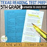 Fifth Grade A TEK-a-Day Reading Test Prep & Review, 1st Ni