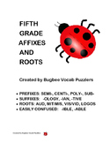 Fifth Grade Affixes and Roots