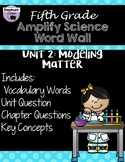 Fifth Grade: Amplify Science Focus Wall- Unit 2
