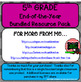 Fifth Grade Bundled Resource Pack (End of the Year Memory