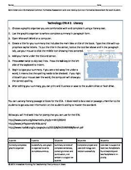 Fifth Grade CCSS Reading Lesson Plans for RL1-9 and RI1-9
