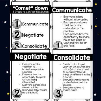 School Counseling - Classroom Guidance Lesson Bundle - Fifth Grade - Space
