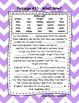 Fifth Grade Cloze Reading Passages Passages 1-35  ***BUNDLE***