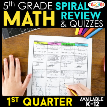 5th Grade Math Homework 5th Grade Morning Work 5th Grade S