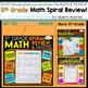 5th Grade Math Homework 5th Grade Morning Work 5th Grade Math Spiral Review FREE