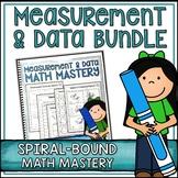 Measurement Worksheets Bundle - Spiral Bound Version