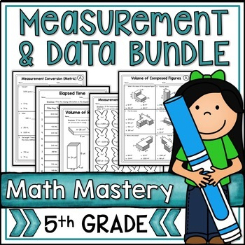 Fifth Grade Common Core Math Measurement & Data MD Bundle
