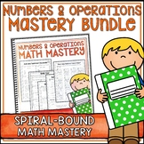Numbers & Operations Bundle - Spiral Bound Version