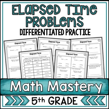 Elapsed Time Worksheets By Shelly Rees Teachers Pay Teachers