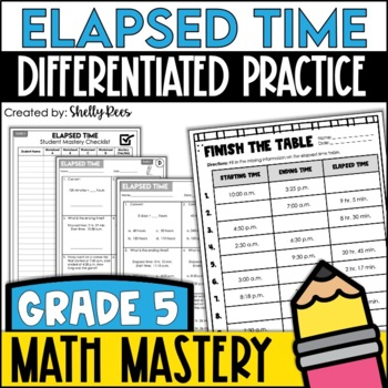 Elapsed time worksheets by shelly rees teachers pay teachers elapsed time worksheets ibookread Download