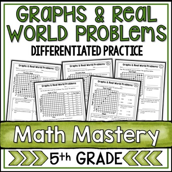 Coordinate Graphing Real World Problems Worksheets By Shelly Rees