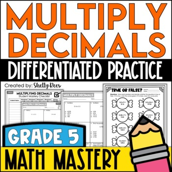 Multiply Decimals (5th Grade Common Core Math: 5.NBT.7)
