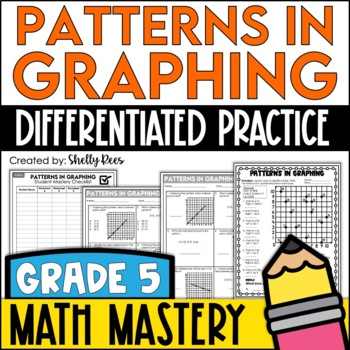 coordinate graphing patterns worksheets by shelly rees tpt. Black Bedroom Furniture Sets. Home Design Ideas