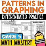 Coordinate Graphing Patterns Worksheets