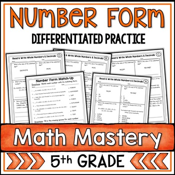 Place Value and Expanded Form Worksheets