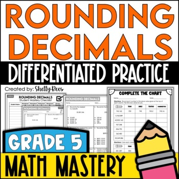 Rounding Decimals Worksheets By Shelly Rees Teachers Pay Teachers