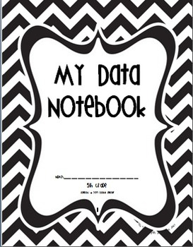 Fifth Grade Common Core Student Data Notebooks and I Can Checklist