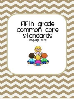 Fifth Grade Common Core User friendly