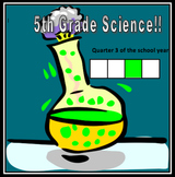 Fifth Grade Common Core and Next Generation Science NGSS Lessons: Quarter 3