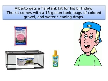 "Fifth Grade Critical Area 2 Math Performance task""Alberto's Tank"""