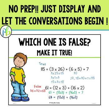 Fifth Grade DIGITAL Number Talks (FREE 5 Day Sample)