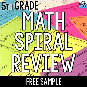 Fifth Grade Daily Math Practice: 7 FREE Worksheets