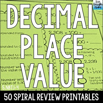 Decimal Place Value Practice