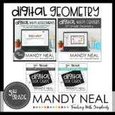 Fifth Grade Digital Math Geometry Bundle   Distance Learning