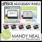 Fifth Grade Digital Math Measurement Bundle | Distance Learning