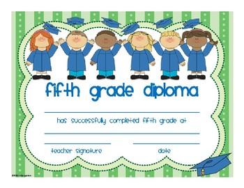 Fifth Grade Diploma
