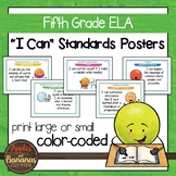 "Fifth Grade ELA Common Core ""I Can"" Posters"