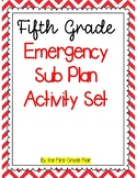 Fifth Grade Emergency Sub Plan Packet