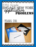 Fifth Grade Engage NY Eureka Application Problem Strips Module One