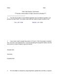 Fifth Grade Eureka Math Test Review Module 1