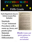 Fifth Grade Everyday Mathematics Unit 5 Lesson Plans, Cent