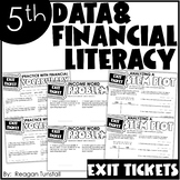 Fifth Grade Exit Tickets Data & Financial Literacy