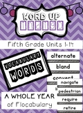 Fifth Grade Flocabulary Units 1-14