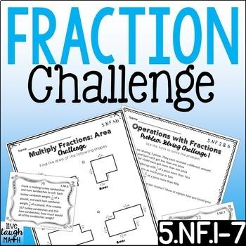 Fifth Grade Fractions Bundle: 3 Levels of Fraction Practice