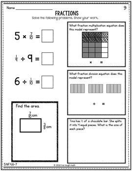 Fifth Grade Fractions Practice