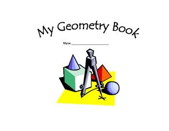 Fifth Grade Geometry Vocabulary Book