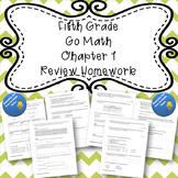 Fifth Grade Go Math Chapter 1 Review Homework