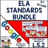 Fifth Grade Grammar Skills ELA Practice Bundle for CCSS L.