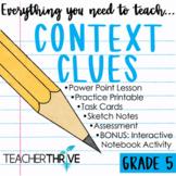 Fifth Grade Grammar Unit: Context Clues