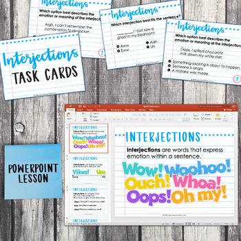 Fifth Grade Grammar Unit: Interjections