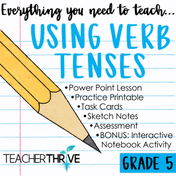 Fifth Grade Grammar Unit: Using Verb Tenses